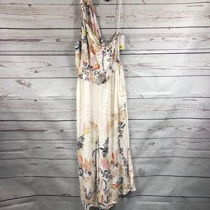 Free people floral jumpsuit